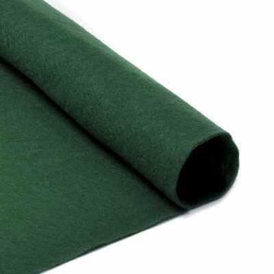 Ткань IDEAL TBY.FLT-S1.678 Фетр листовой мягкий цв. зеленый
