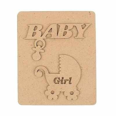 1378620 Заготовка для альбома Baby под фото, девочки,