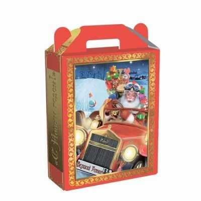"""1188244 Подарочная коробка """"Сказки Деда Мороза"""" большая, сборная"""