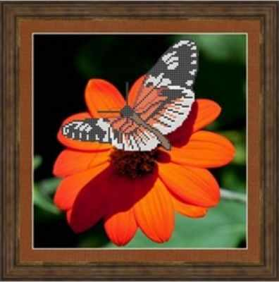 КАЮ3020 Бабочка на цветочке