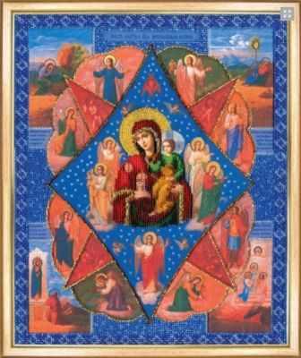 Б-1090  Икона БМ Неопалимая купина   чм - Наборы для вышивания икон «Чарiвна Мить»