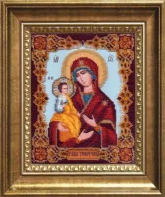 Б-1113  Икона Божьей Матери Троеручица   чм - Наборы для вышивания икон «Чарiвна Мить»