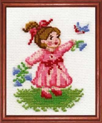 Набор для вышивания Сделай своими руками М-05 Малышка