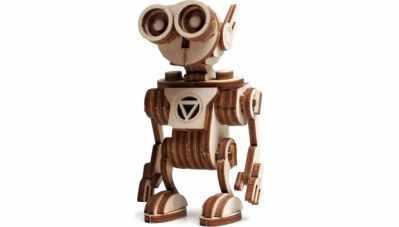00-76 Конструктор 3D подвижный Робот Санни