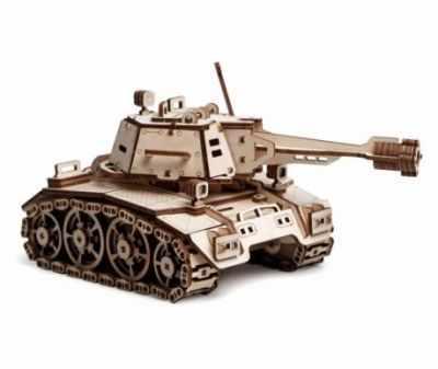 00-77 Конструктор 3D подвижный Танк Кадет