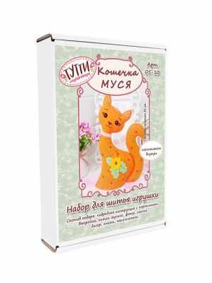 Набор для изготовления игрушки ТУТТИ 05-10 Кошечка Муся