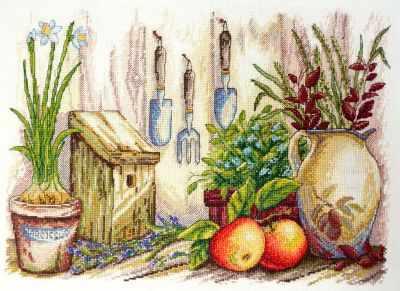 11.003.11 Садовый (МИ) - Наборы для вышивания «Марья Искусница»