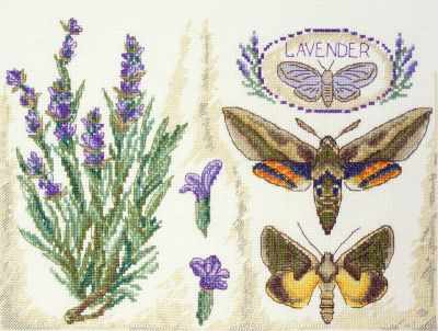 11.003.12 Лаванда (МИ) - Наборы для вышивания «Марья Искусница»