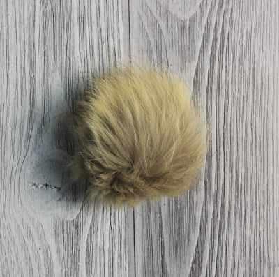 Помпон из меха песца Цвет. Махаон - Помпоны меховые