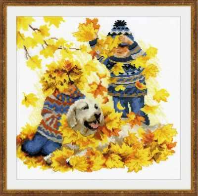 Набор для вышивания Риолис (Сотвори Сама) 1694 Осенние каникулы