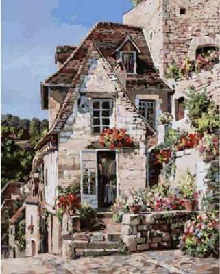Набор для рисования по номерам Белоснежка 212-АВ Франция. Ракамадур - раскраска (Белоснежка)