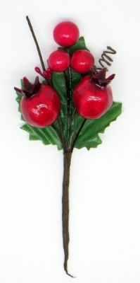 DKB135 Декоративный букетик Рукоделие Лесная ягода