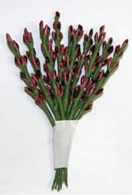 DKB022F Декоративный букетик Рукоделие (т.розовый)