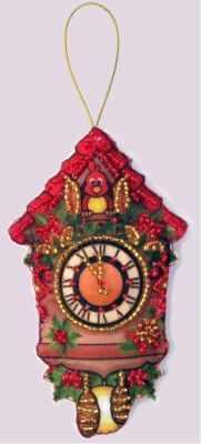 Набор для изготовления изделий из фетра Butterfly F085 Часы -