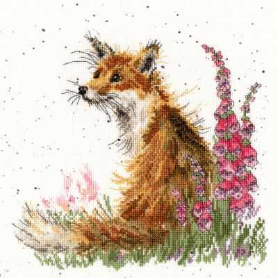 XHD8 Amongst The Foxgloves (BT) - Наборы для вышивания «Bothy Threads»