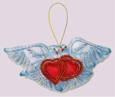 Набор для изготовления изделий из фетра Butterfly F093 Голуби - Butterfly набор для вышивания butterfly 153 корзинка с мимозой