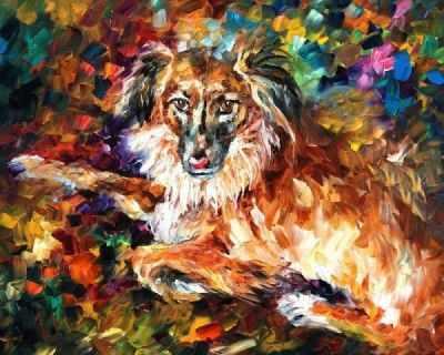 RA004 Породистый пес - Раскраски по номерам «Color Kit»