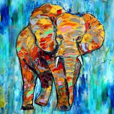 RF003 Яркая Африка - Раскраски по номерам «Color Kit»