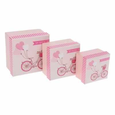 Подарочная коробка - 1535833 Набор коробок 3в1