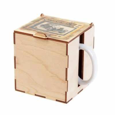 Подарочная коробка - 2593954 Коробка под кружку
