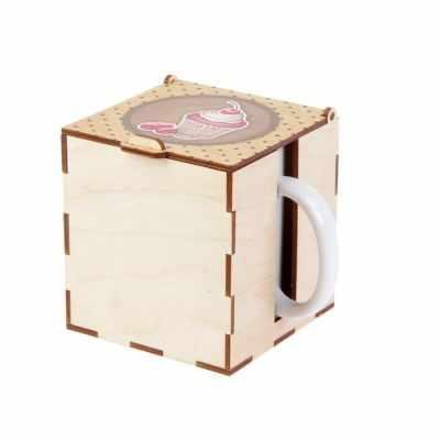 Подарочная коробка - 2593958 Коробка под кружку