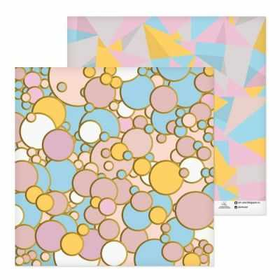 2655828 Бумага для скрапбукинга Розовое золото