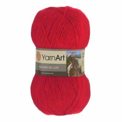 Пряжа YarnArt Пряжа YarnArt Angora De Luxe Цвет.156 Ярко красный