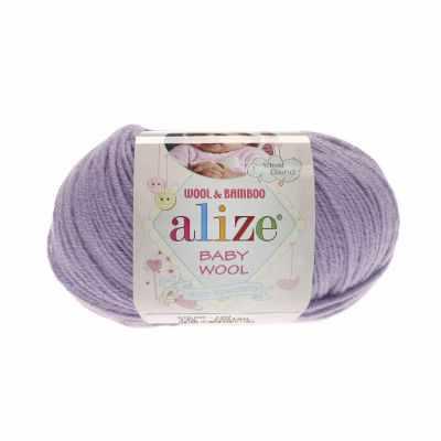 Пряжа Alize Пряжа Alize Baby Wool Цвет.146 Лиловый