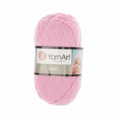 Пряжа YarnArt Baby Цвет.10119 Розовый