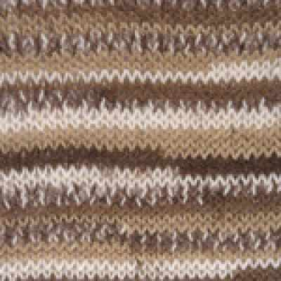Пряжа YarnArt Пряжа YarnArt Crazy Color Цвет.110 Бежево-коричневый