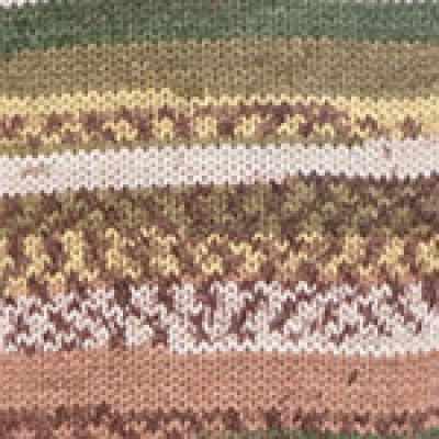 Пряжа YarnArt Crazy Color Цвет.159 Коричнево-оливковый