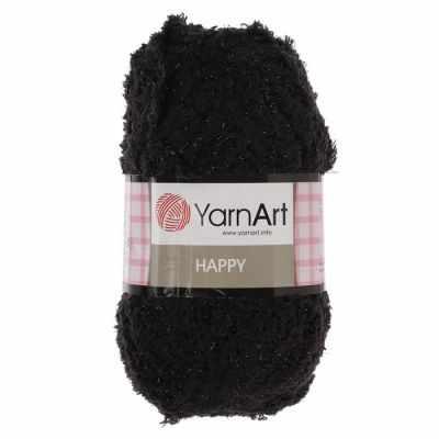 Пряжа YarnArt Пряжа YarnArt Happy Цвет.782 Черный