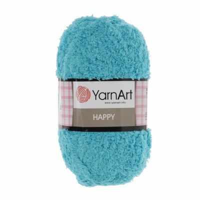 Пряжа YarnArt Happy Цвет.785 Бирюзовый