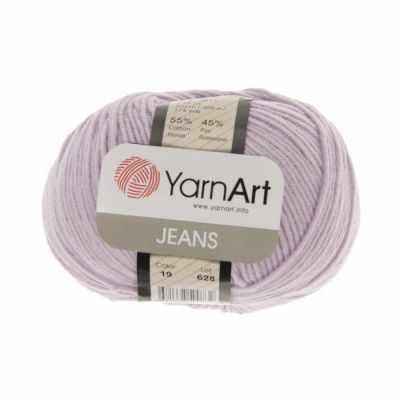 Пряжа YarnArt Пряжа YarnArt Jeans Цвет.19 Светло-сиреневый