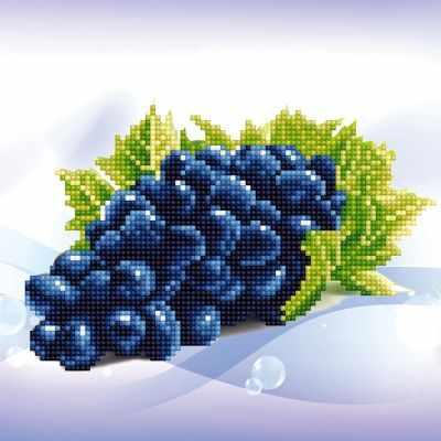 ALV-5 Кристальная мозаика (алмазная вышивка) 06  Виноград  - Мозаика «ФРЕЯ»