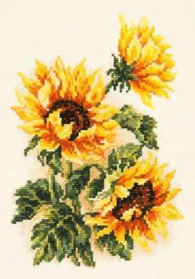 40-78 Подсолнушки - Наборы для вышивания «Чудесная игла»