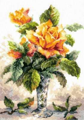 40-79 Желтые розы - Наборы для вышивания «Чудесная игла»