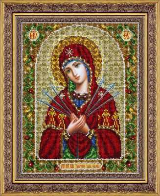 Набор для вышивания иконы Паутинка Б1096 Пр.Богородица Умягч.злых сердец (Паутинка)