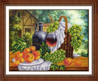 Б1270 Натюрморт с вином (Паутинка) - Наборы для вышивания «Паутинка»