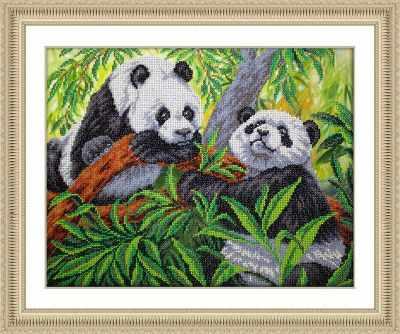 Б1467 Панды (Паутинка) - Наборы для вышивания «Паутинка»