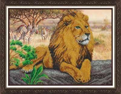Б1470 Царь зверей (Паутинка) - Наборы для вышивания «Паутинка»