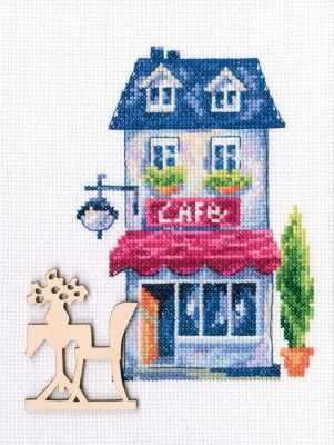 Набор для вышивания РТО MBE9011 - Мой милый дом