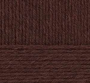 Пряжа Пехорка Пряжа Пехорка Зимняя премьера Цвет.17 Шоколад