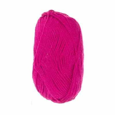 Пряжа Пехорка Популярная Цвет.439 Малиновый