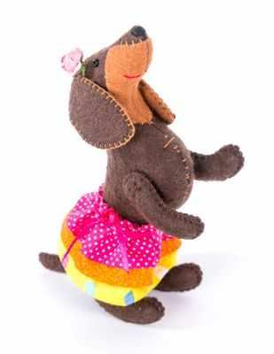 ПФЗД-1010  Красотка   игрушка (Перловка) - Наборы из фетра