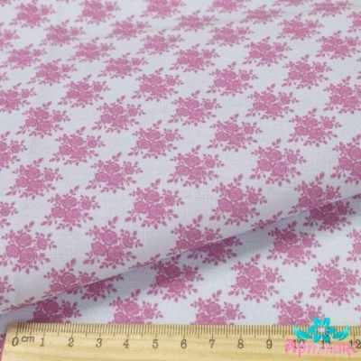AM590002 Ткань Нежные винтажные розы№3