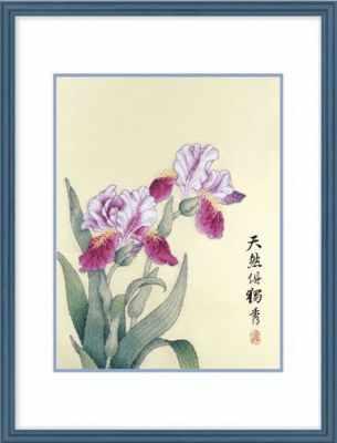 2801303 Ирис  набор (Xiu Crafts) - Наборы для вышивания «Xiu Crafts»