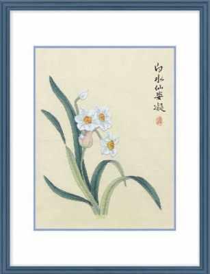 2801302 Белый нарцисс  набор (Xiu Crafts) - Наборы для вышивания «Xiu Crafts»