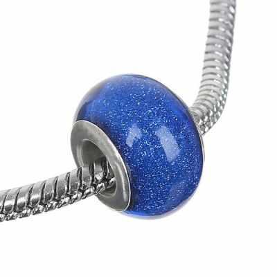 1698397 Бусинка, блестка, цвет синий
