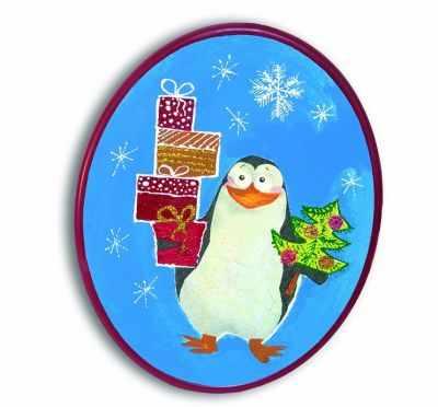 2009 Мастерская деда мороза  Пингвиненок